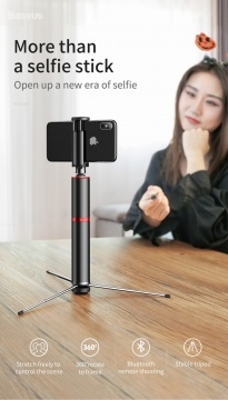 Gậy selfie Baseus Fully (bluetooth kết hợp tripod)